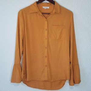 BeachLunchLounge Collection Bell Sleeve Button Up